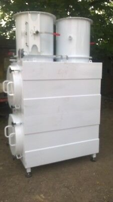 Very Large - Fume Extraction Filters + Fan  (  New ) British Made- Top Quality