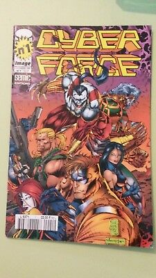 comics cyber force n°1