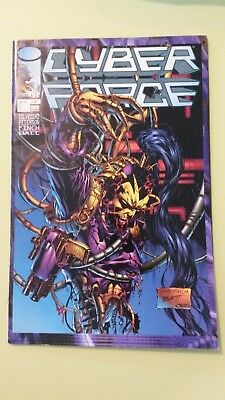 comics cyber force n°9