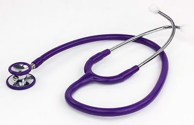Dixie Ems Purple Pediatric High Quality Clinician Stethoscope 30""