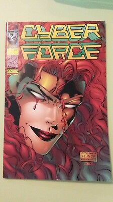comics cyber force n°12