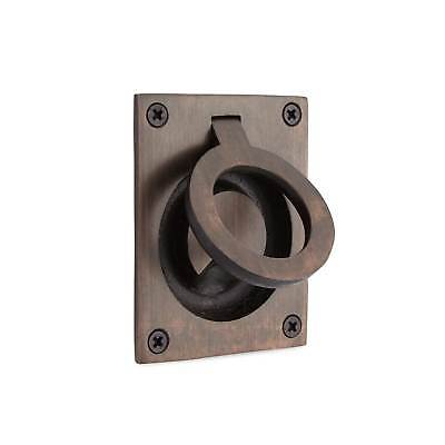Signature Hardware Rectangular Recessed Pull with Flush Ring