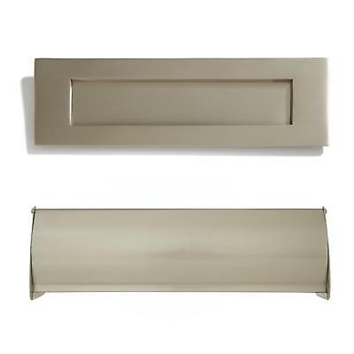 Signature Hardware Heavy Brass Mail Slot