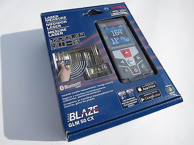 New and Sealed! Bosch Bluetooth Laser Measure model GLM 50 CX BLAZE