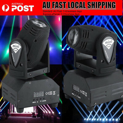 2Pcs 50W RGBW LED Moving Head Light DMX512 Stage Party DJ Pub Bar Show Lighting