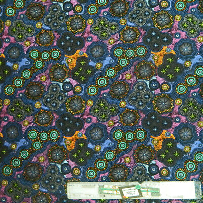 Quilting Patchwork Sewing Cotton Batik Fabric PINK PURPLE ROSES B Cotton 50x5...