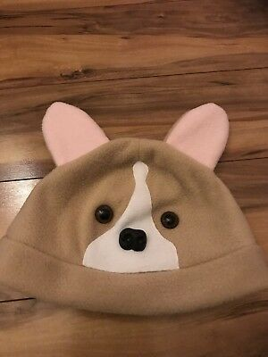 Corgi Fleece Hat