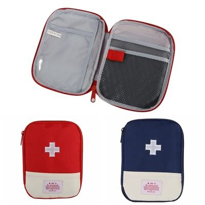 Emergency First Aid Kit Bag Pouch Outdoor Camping Hiking Survival Traveling Tool