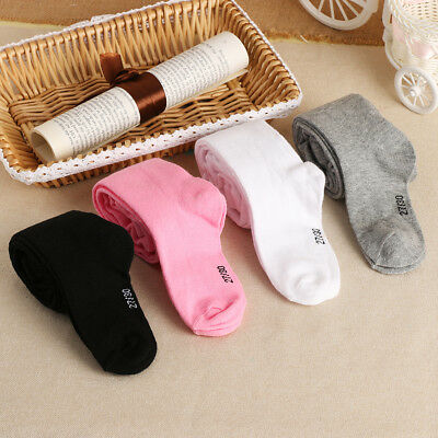 New 0-6Y Spring/Autumn Baby Girls Pantyhose Kids Knitted Tights Soft Infant