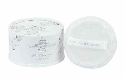 Woods of Windsor White Jasmine Dusting Powder 100g/3.5oz.