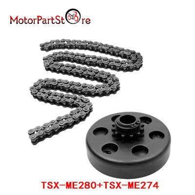 3/4'' Centrifugal Clutch 12 Tooth #35 Chain Screw Set For Honda 2 - 6.5HP Engine