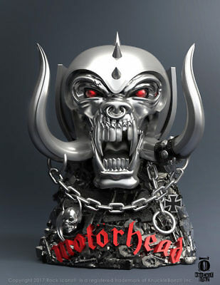 Official Licensed - Motorhead - Warpig Rock Iconz Statue Lemmy Import