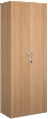 2140mm high standard cupboard in beech