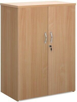 1090mm high standard cupboard in beech