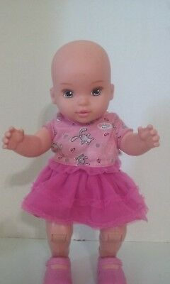 Rare Mga Baby Born Dance With Me Doll Zapf Creation Euc