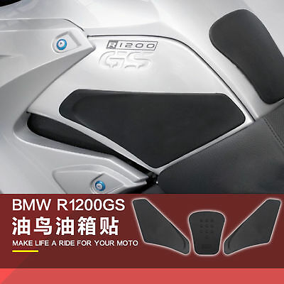 3M Tank Traction Pad Side Gas Knee Grip Protector For BMW R1200GS 2008-2017