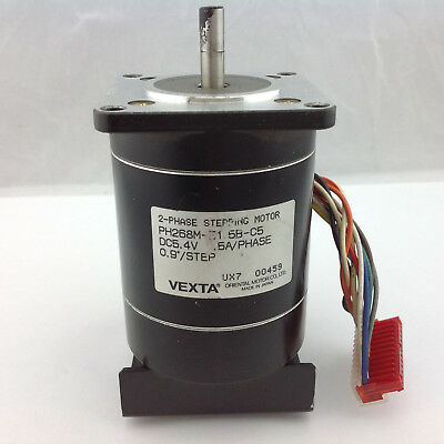 Vexta 2 Phase Stepping Motor PH268M-E1.6B-C5 DC5.4V 0.9°/STEP