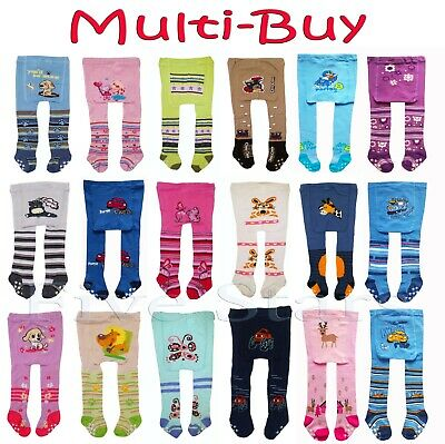 Newborn Baby Boy Kids Cotton Tights Anti Slip Multi Buy Leg Warmers 0-6 months