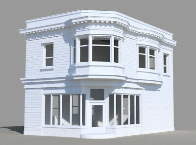 N Scale Custom Buildings 3D Printed From Your Photos ** Read Only**