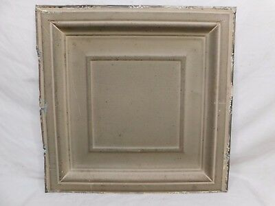 "24"" x 24"" Antique Tin Ceiling Tile - C. 1890 Framed Design Architectural Salvage"