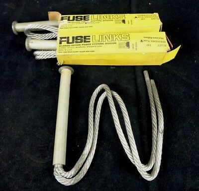 (3 NEW) S&C *McGraw EDISON FUSE LINKS * FL11T * 140A * LGTH. 23 (LOT of 3)