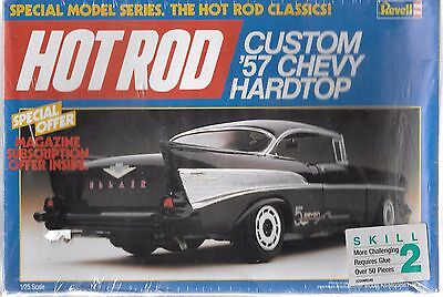 Revell, Hot Rod Special, Custom Graphics, 1957 Chevy Hard Top in 1/25 7123