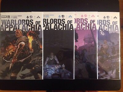 Warlords Of Appalachia #1-4 Complete - First prints, VF/NM (Boom!, 2016)