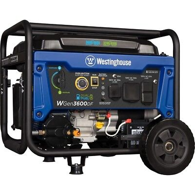 Portable Westinghouse Ozone Outdoor Electric Power Generator Transfer Switch NEW