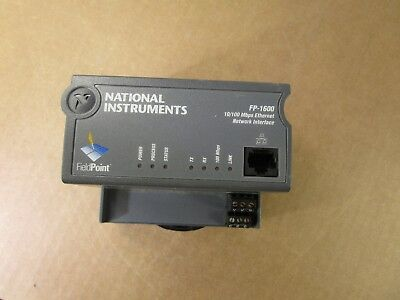 National Instruments NI FP-1600 Ethernet Fieldpoint Network Controller Interface