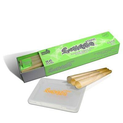 SMIZZLE 36 Pre-Rolled Organic Hemp Cones, JACK (83mm) with Tube Bundle