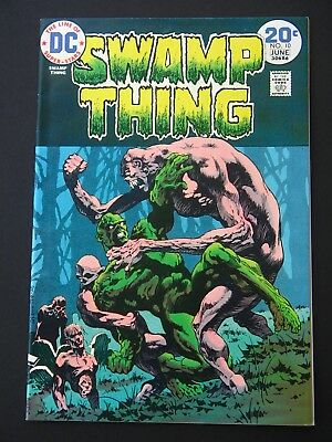 Swamp Thing #10 NM- 1974 High Grade DC Comic  Berni Wrightson Art