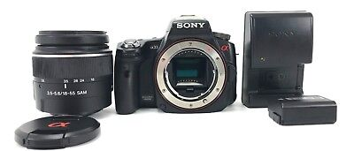 Sony alpha A33 14.2 MP Digital SLR Camera w/ DT SAM 18-55mm zoom