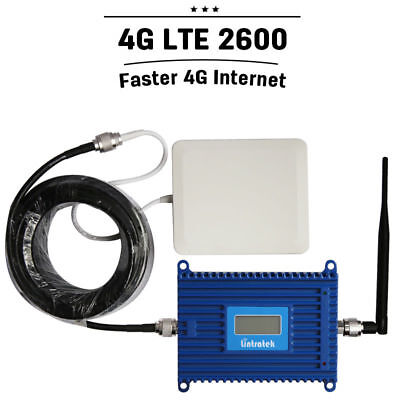 LCD Display 4G LTE 2600mhz Band 7 Mobile Phone Signal Booster Amplifier US STOCK