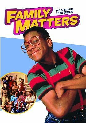 Family Matters Complete Fifth Season 5 Five DVD Set Series TV Show Comedy Drama