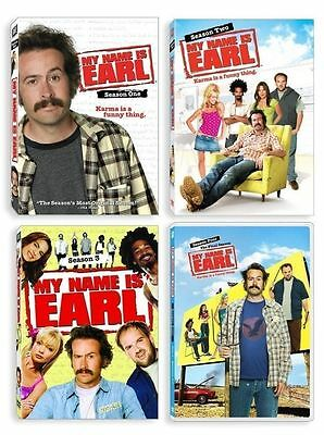 My Name is Earl Complete Series Season 1 2 3 4 DVD Set Collection Lot Show TV R1
