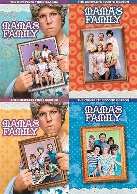 Mama's Family Complete Season 1-4 DVD Set Series Collection TV Show Lot Episodes