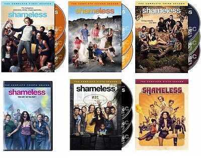 Shameless ALL Season 1-6 Complete DVD Set Collection Series TV Show Episodes Lot