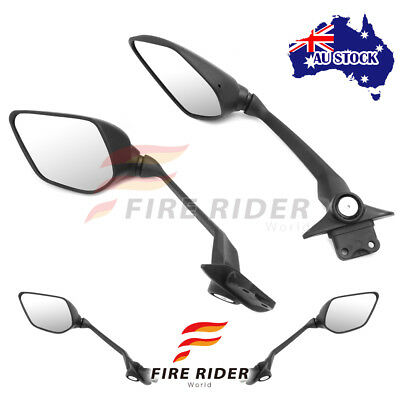 Fit Yamaha Tmax 530 XP530 15 16 eMark Black Aftermarket Rear Side Mirrors