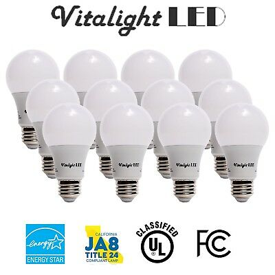 60 Watt Equivalent SlimStyle A19 LED Light Bulb 12 Pack 114
