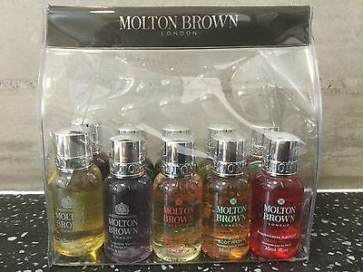 Molton Brown Body Wash & Hand Wash Gift / Travel Set (10 x 30ml) – NEW
