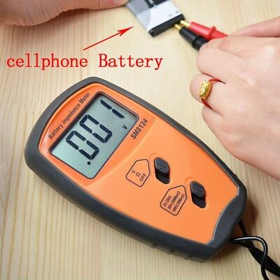 Portable Battery Internal Resistance Meter Voltage Tester Voltmeter SM8124