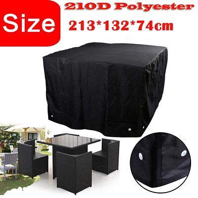 """Waterproof Chairs Tables Sofa Outdoor Garden Patio Furniture Cover 84""""Protector"""