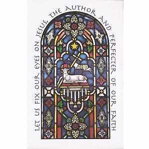 Bulletin-Stain Glass Window (Pack Of 100)