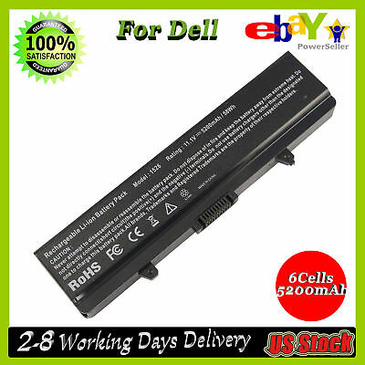 5200mAh Laptop Battery for Dell Inspiron 1525 1526 1440 1545 1546 1750 GW240 CA