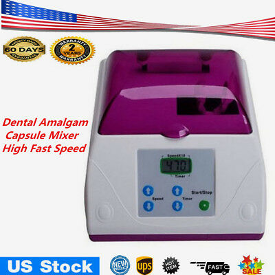 Dental Electric High Speed Amalgamator HL-AH Amalgam Capsule Mixer Blender 20W