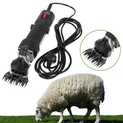 320W Electric Sheep Clipper Portable Pet Wool Shears Pressure Adjustable 2400RPM