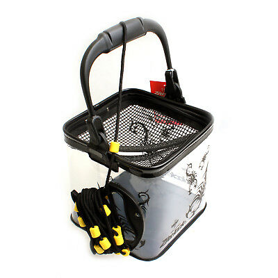 Tackle Boxes Folding Collapsible Bucket Water Live Bait Cag HB-1334