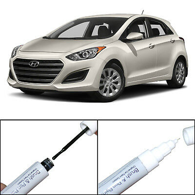 Touch Up Paint Scratch Repair Pen&Brush For Elantra GT 2012-2017