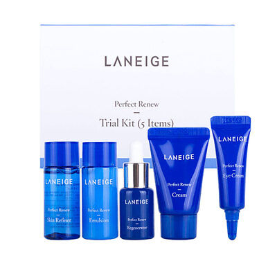 [LANEIGE] New Perfect Renew Trial Kit (5 items) x 1 set or 2 set