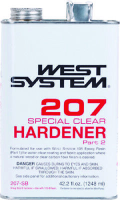 Boat Marine West System 207 Special Clear Hardener Part 2 42.2 Ounce